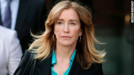 Prosecutors plan to seek up to 10 months in jail for actress Felicity Huffman