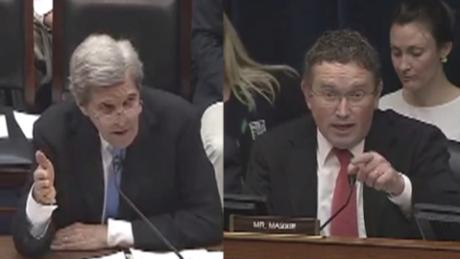 Hearing on climate change and national security becomes an angry partisan clash