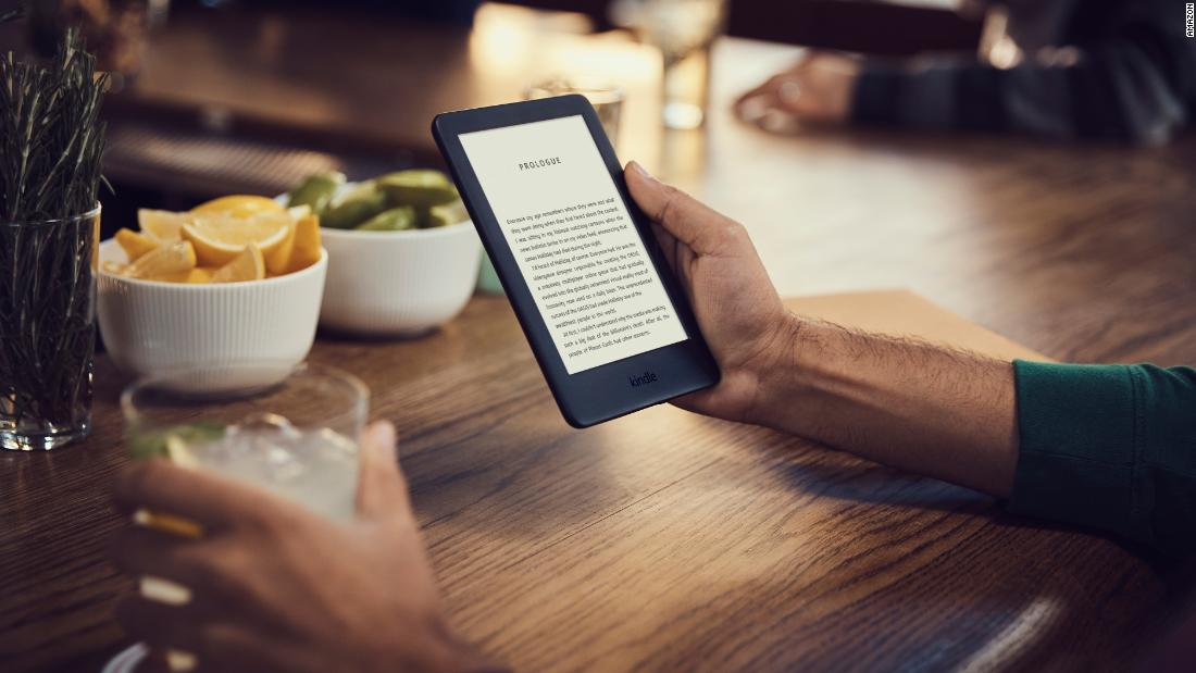 Amazon's new Kindle has new features at a great price