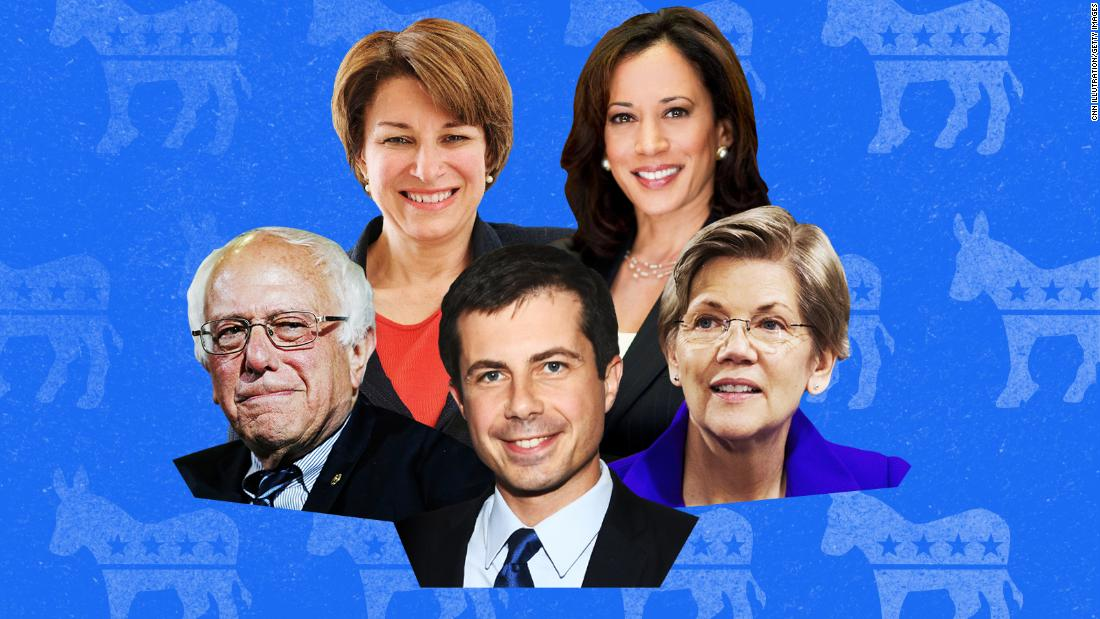 CNN to host town halls with five Democratic presidential candidates on April 22 - CNNPolitics