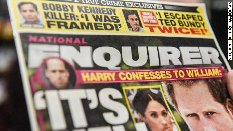 The National Enquirer is for sale