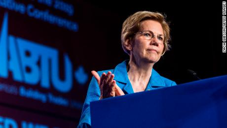 Elizabeth Warren unveils $640 billion college debt forgiveness plan