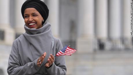 Omar: 'I am as American as everyone else is'