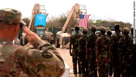 La misión militar estadounidense en Somalia podría tardar siete años en completarse