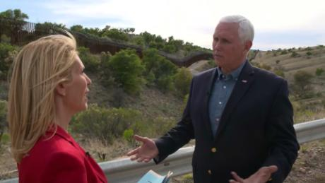 Pence says migrant family separations will not return