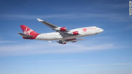 Virgin Orbit plans to use a customized Boeing 747-400 to compete with Stratolaunch