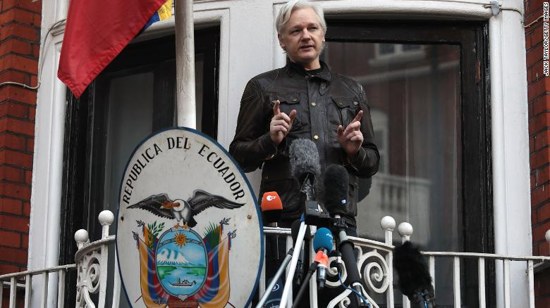 Exclusive: Security reports reveal how Assange turned an embassy into a command post for election meddling