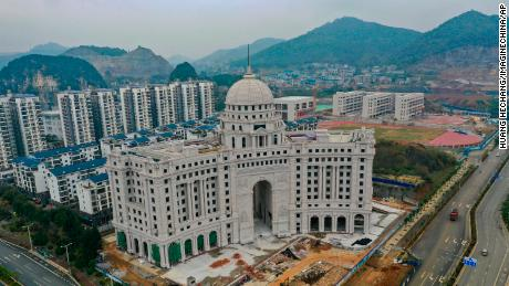 A building in Liuzhou City, China, will house a branch of China Construction Bank, the second largest bank in the world. CWB has assets of $ 3.4 trillion, nearly $ 1 trillion more than the largest US bank, JPMorgan Chase.