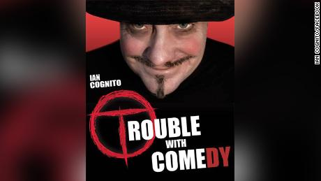 Comedians pay tribute to Ian Cognito after stand-up comic dies onstage