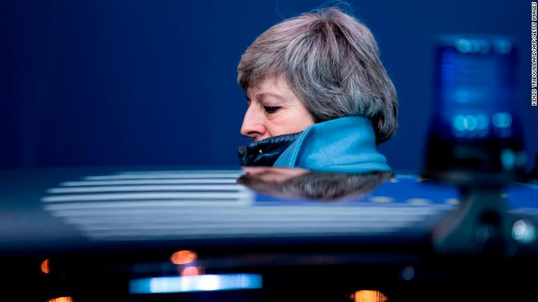 Theresa May presses Labour to reach Brexit deal, but leaks jeopardize talks