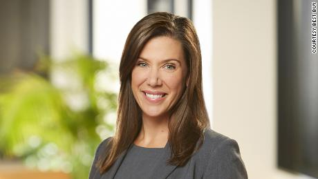 Corie Barry will take the helm as Best Buy's CEO in June.