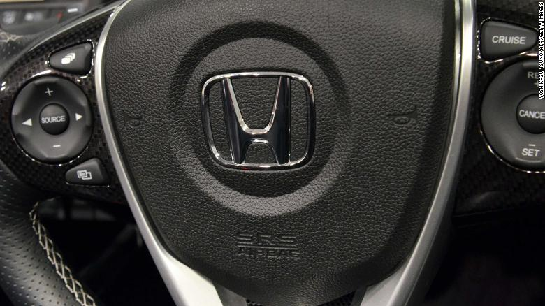 Honda recalls another 1.6 mn vehicles in US over air bags
