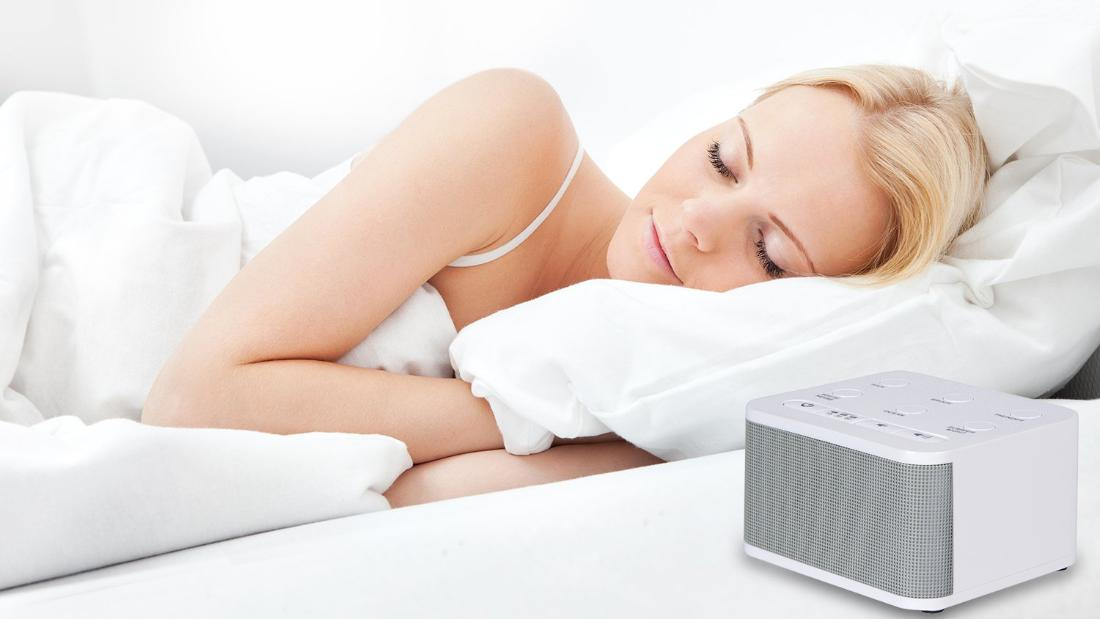 Have trouble sleeping? A white noise machine might be the answer