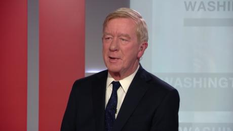 Republican Bill Weld announces primary campaign against Donald Trump