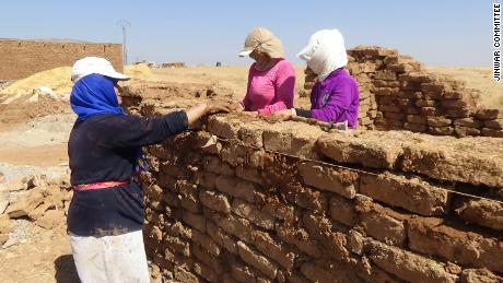 Jinwar women chose to open the village on November 25, which is International Day for the Elimination of Violence Against Women.
