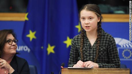 Swedish climate activist Greta Thunberg has been mocked by some AfD members.