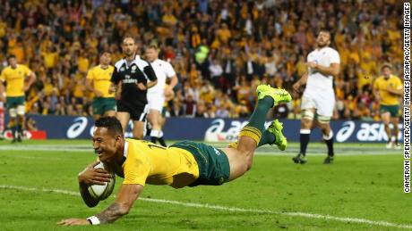 Folau has been a standout player for the Wallabies in recent years