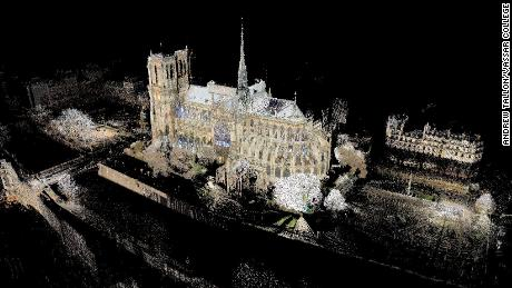 Art historian's laser mapping project could help save Notre Dame