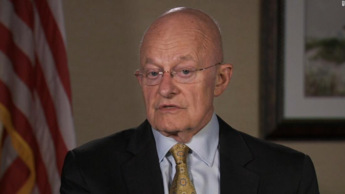 James Clapper says redacted Mueller report 'pretty devastating' - CNNPolitics