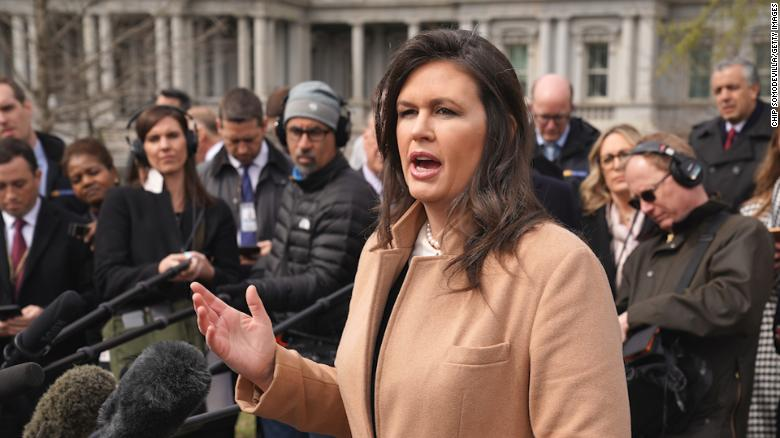 Sarah Sanders says there's no culture of lying at the White House