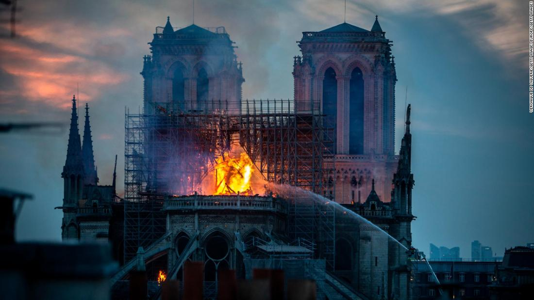 Notre Dame Cathedral: Surrounding streets being decontaminated for lead - CNN