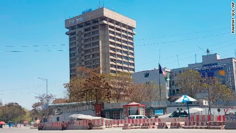 Afghan telecoms ministry hit by blast as attackers enter Kabul building