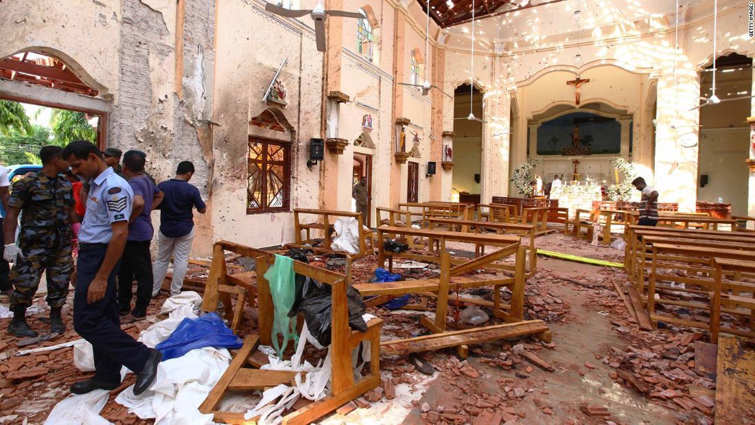 Sri Lanka blasts: 290 dead in Colombo, Negombo and Batticaloa - CNN