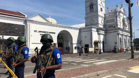 Sri Lanka suspects international terror link to Easter Sunday atrocities