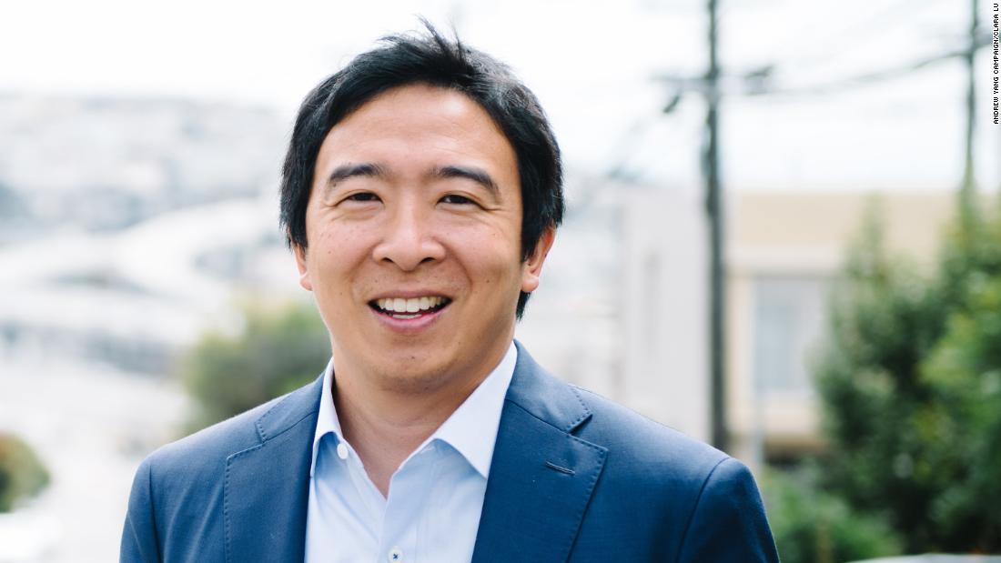 Andrew Yang was one of the earliest candidates to announce a presidential bid for the 2020 elezione.