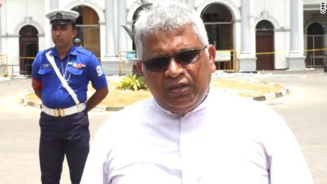 Father Jude Fernando Sri Lanka bombings