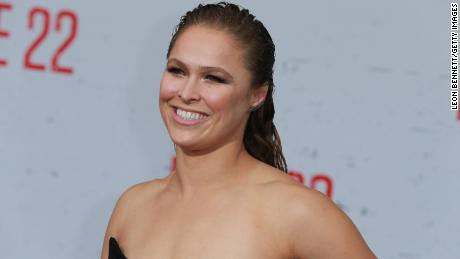 Ronda Rousey hospitalized with gnarly on-set finger injury