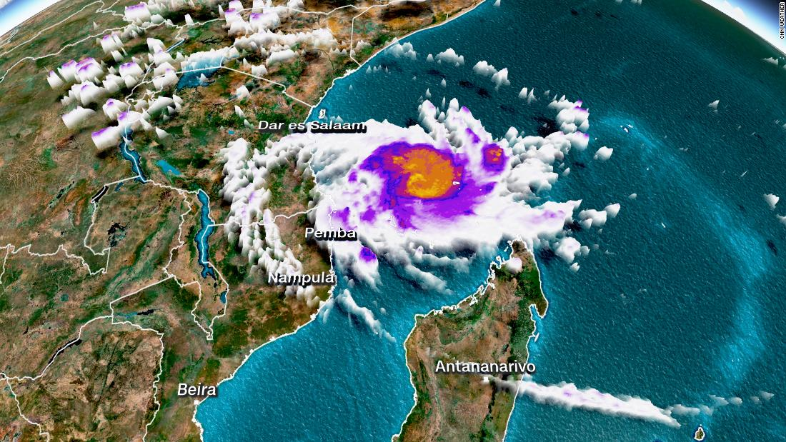 Mozambique: Another tropical cyclone is taking aim at the storm-wrecked African nation - CNN