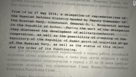 M-Invest-Dokumente weisen auf die Bedeutung eines Hafens im Sudan für Russland hin.