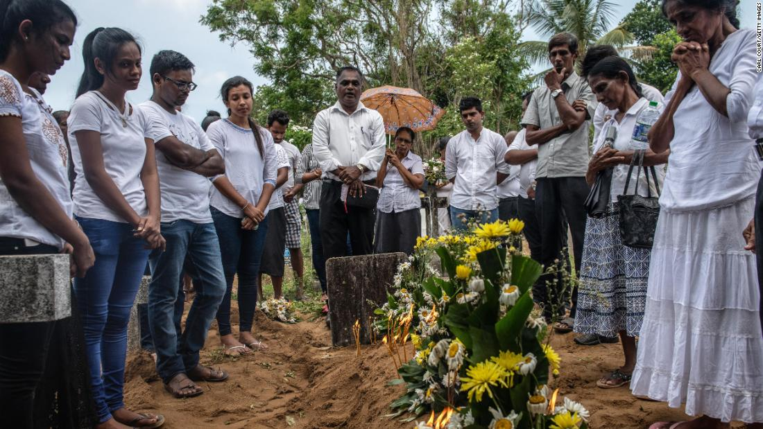 Sri Lanka: Death toll in Easter attacks lowered by more than 100 - CNN