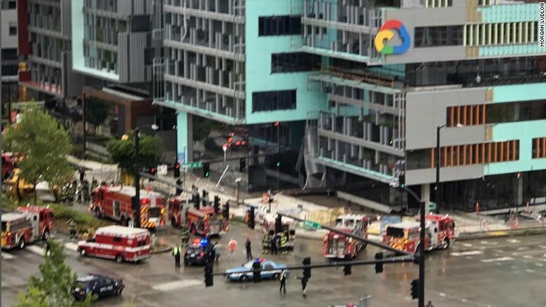 'Terrifying': Crane Falls on Busy Seattle Street, Killing Four