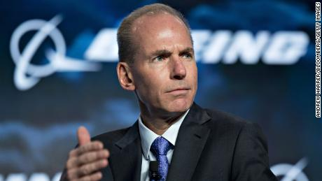 Boeing CEO says 737 Max was designed properly and pilots did not 'completely' follow procedure