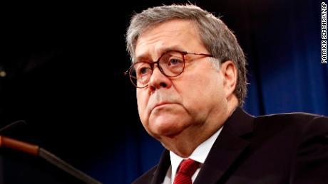 Barr defiant amid furor over his handling of Mueller report