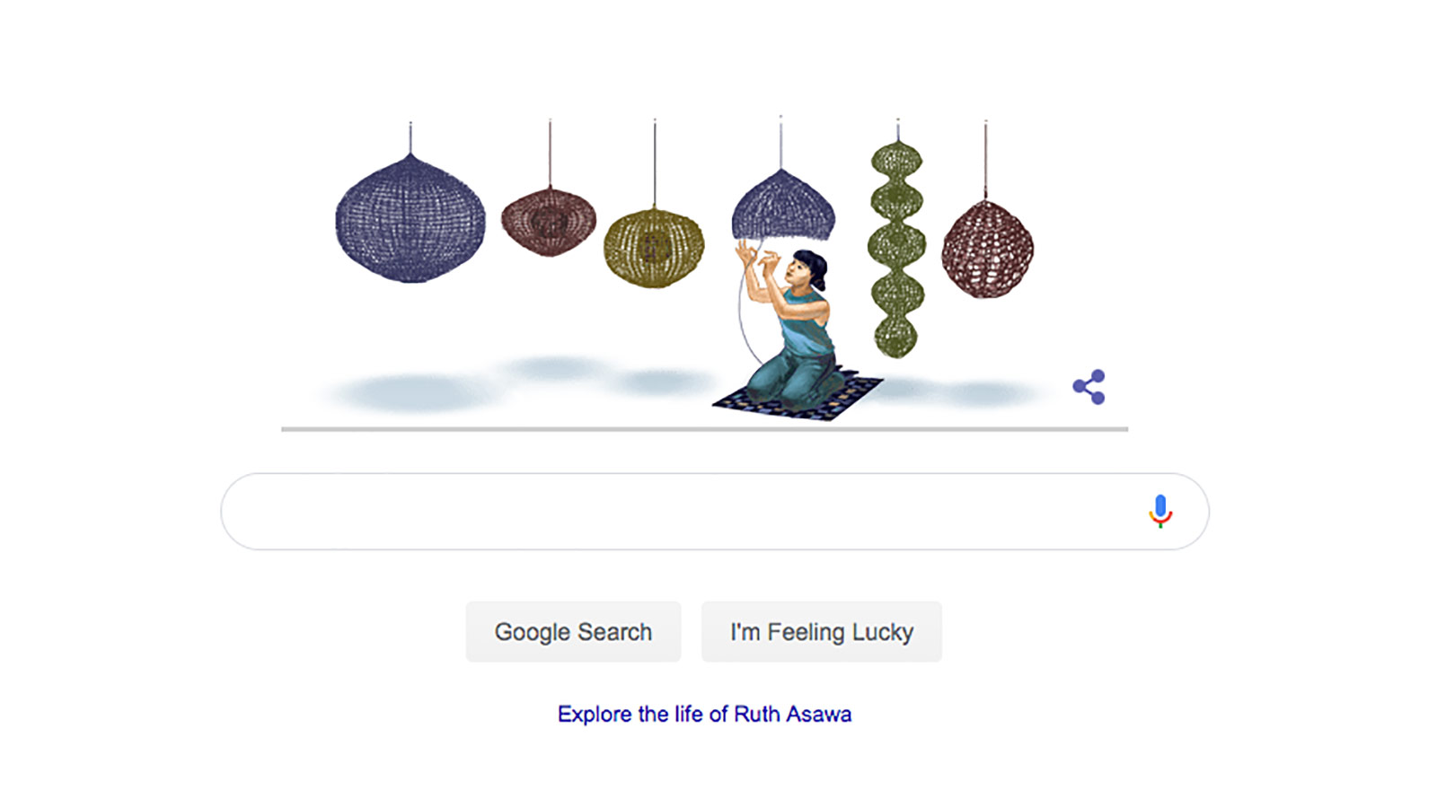 Ruth Asawa is today's Google Doodle. Here's what you should know about her. - CNN Style