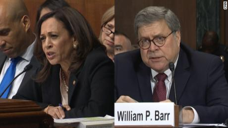 Kamala Harris wants IG to investigate if Barr opened probes into Trump enemies at White House request
