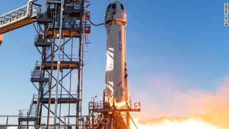 Jeff Bezos's Blue Origin launches 12th test flight of space tourism rocket