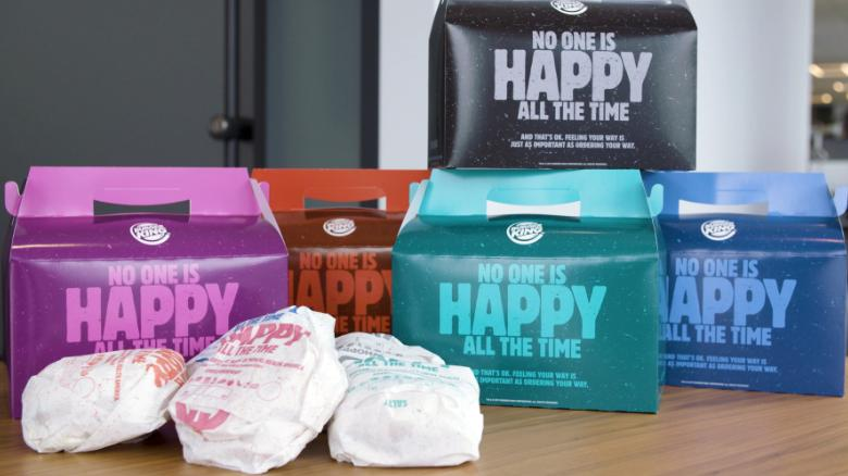 Burger King Mocked for Mental Health Meals