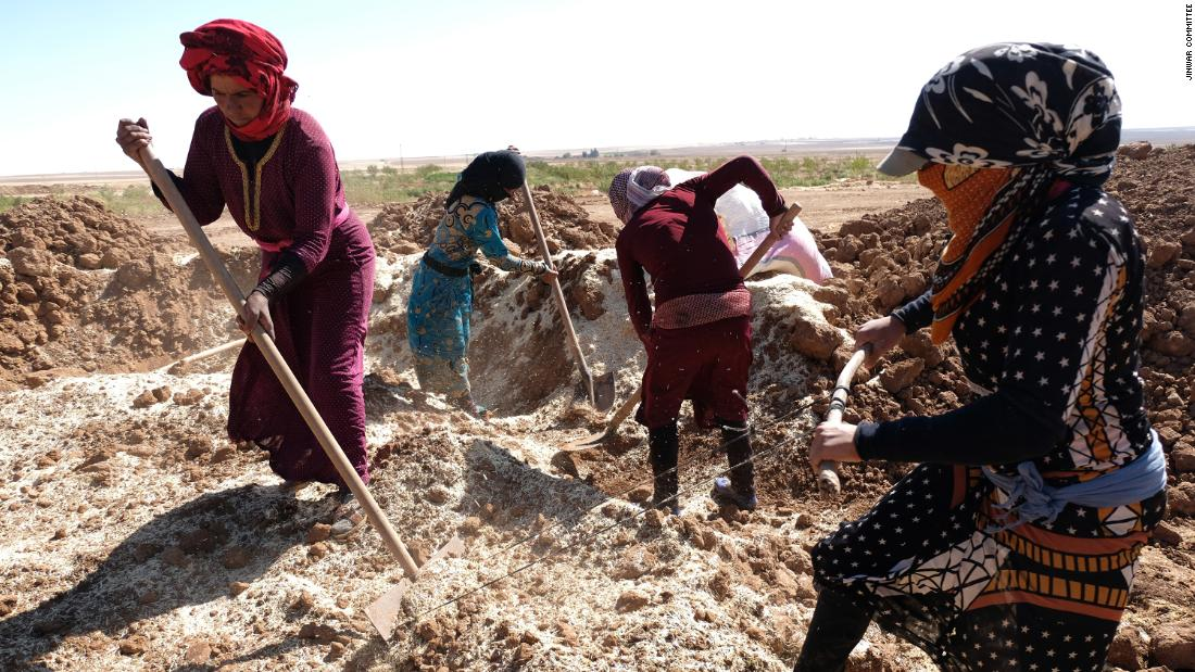 After surviving ISIS and a civil war, these Syrian women built a female-only village - CNN