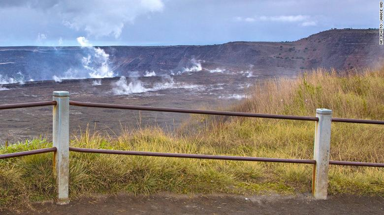 Soldier Climbs Over Railing, Falls Into Volcano