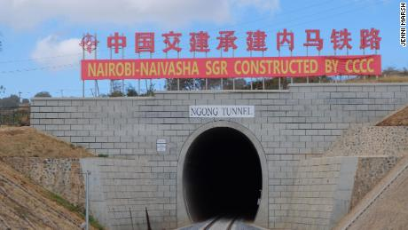 The Ngong Tunnel is the second-longest in Africa.