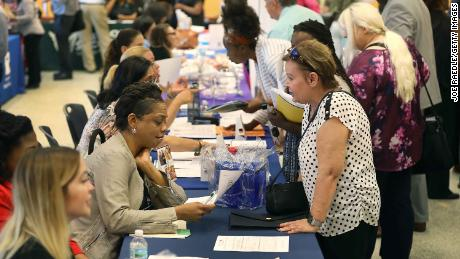 US economy has added jobs for 103 straight months. Unemployment rate falls to 3.6%