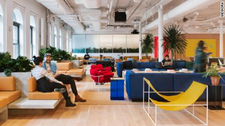 WeWork isn't just selling desk space. It's selling a new way of life