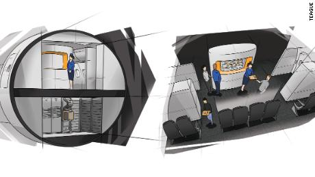 What if we got rid of the airplane galley?
