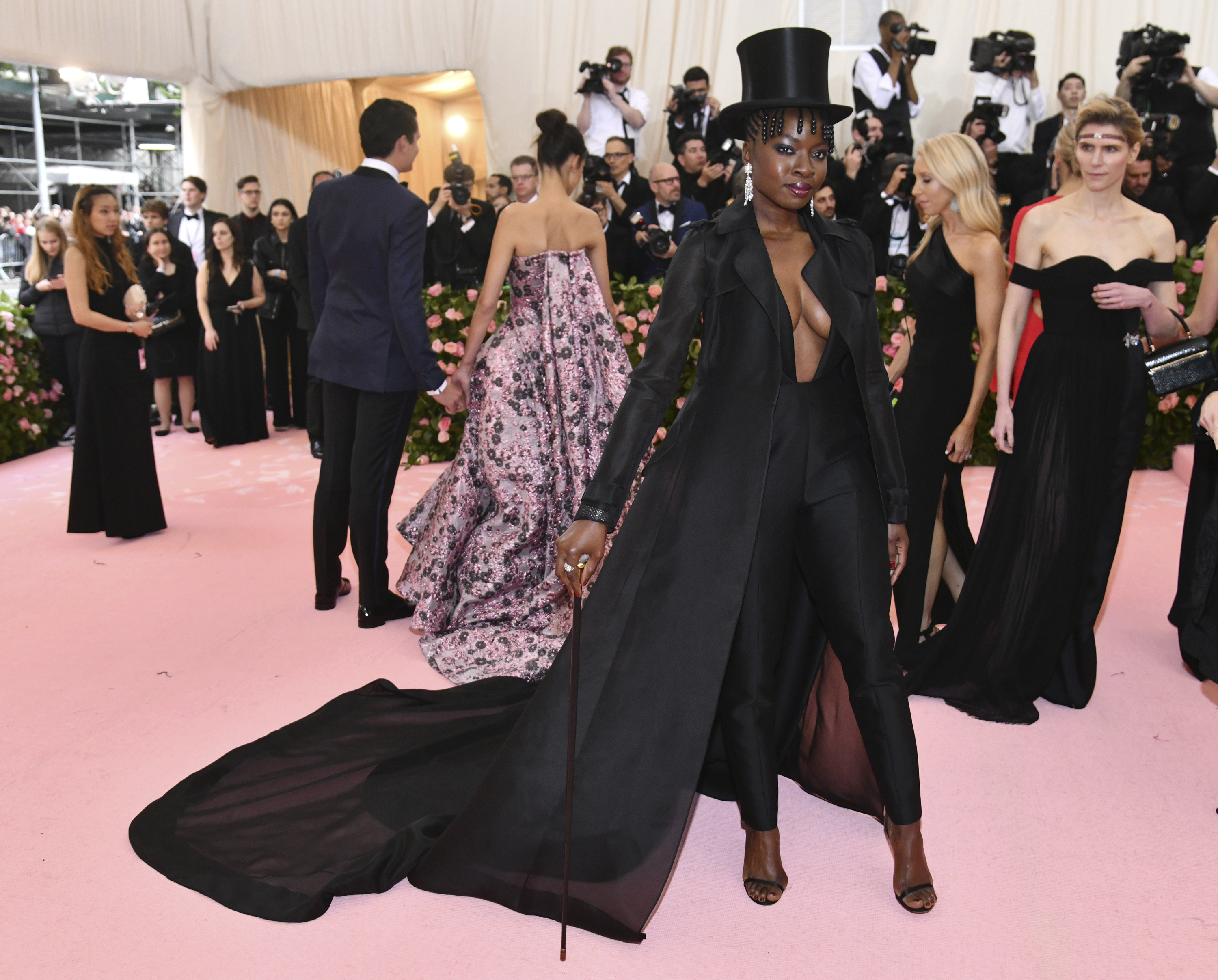 Image result for diana gurira MET GALA 2019