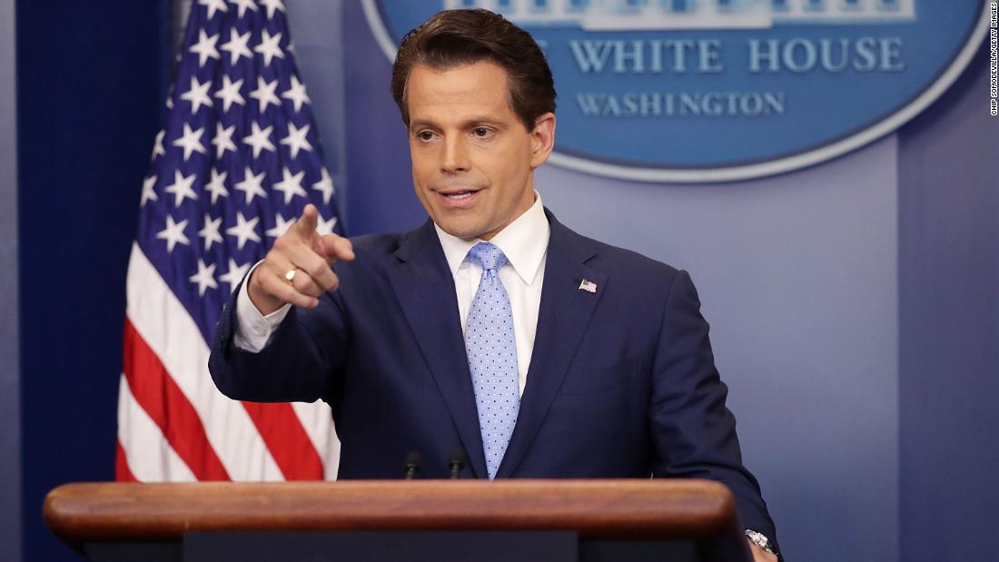 Anthony Scaramucci no longer backs Trump's reelection, says change may be needed at top of ticket - CNNPolitics