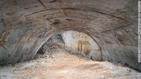 Sphinx chamber at Emperor Nero's palace in Rome brought to light after 2,000 years